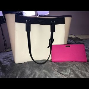 Kate Spade Large Tote and Wallet